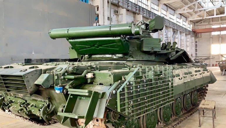 В состоянии ли Украина модернизировать советские танки