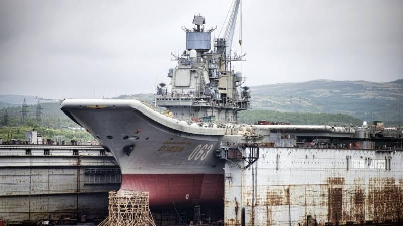 Модернизация ТАВКР «Адмирал Кузнецов»: что получит Россия?