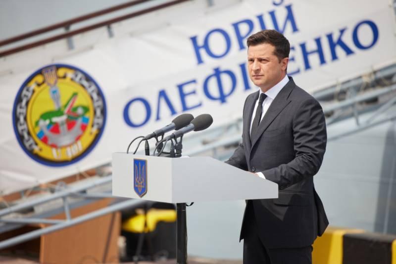 Зеленский: ВМС Украины становятся всё более мощной силой