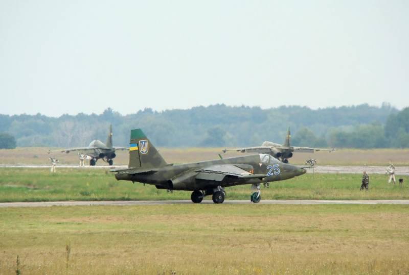 Пресса Украины: Наши штурмовики Су-25 идут в атаку на российский Черноморский флот