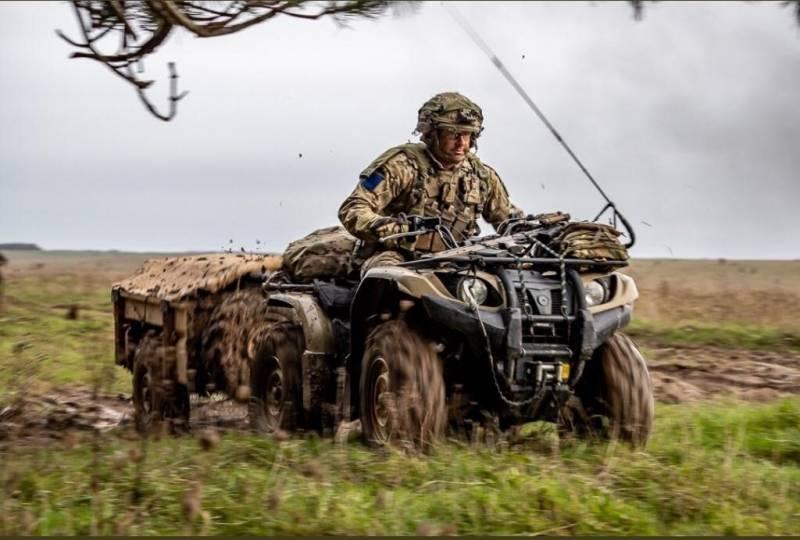 Британский спецназ высадился в 160 км от российских границ
