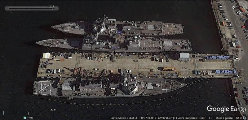 Американские силы ПВО, авиационные средства разведки и управления, развёрнутые на территории Японии