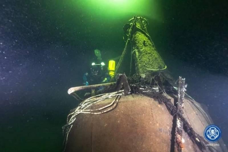 На дне Балтийского моря нашли советскую подводную лодку М-96, пропавшую без вести в 1944 году