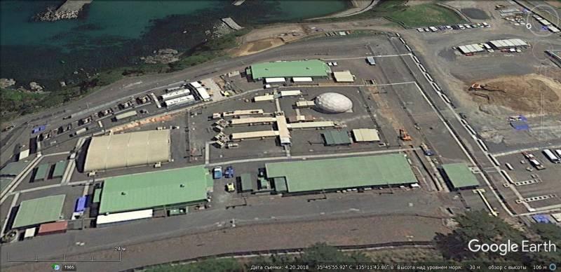 Японские радиолокационные станции предупреждения о ракетном нападении