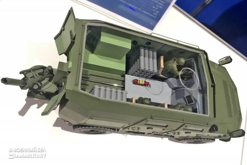 На Украине увидели сходство разрабатываемого в Белоруссии 120-мм возимого миномёта с украинским «Барс-8ММК»