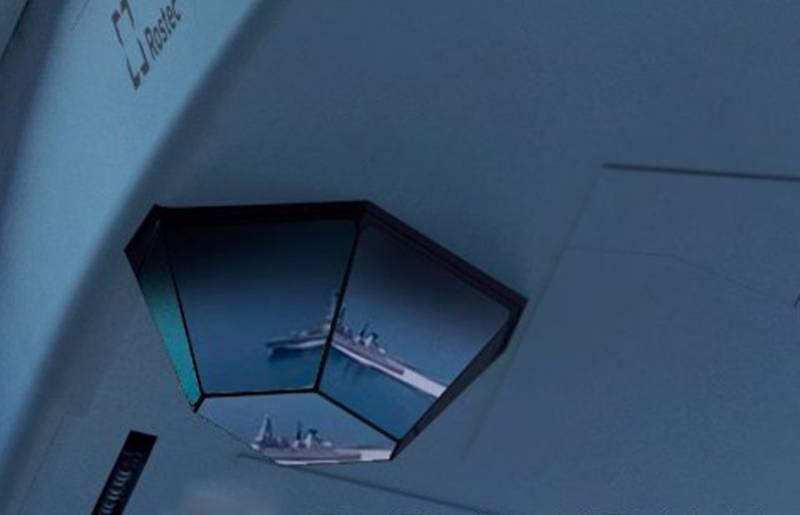 «Намёк понятен»: на Западе комментируют публикацию Ростеха с отражением британского эсминца в прицеле перспективного самолёта