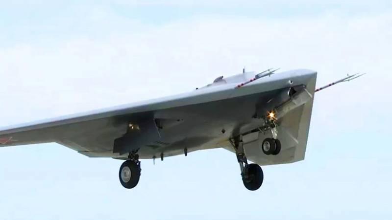 Минобороны запросило ускорение поставок ударных беспилотников С-70 «Охотник» в войска