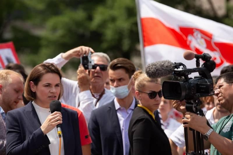 Тихановская в США: С помощью Байдена мы победим