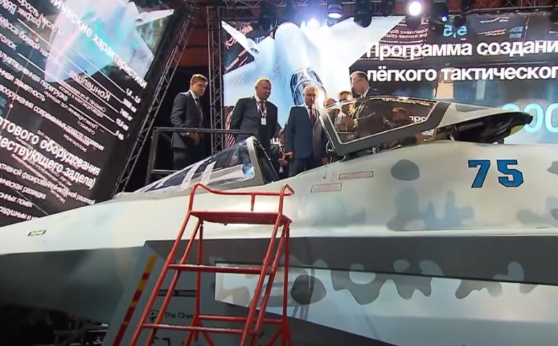 Названы потенциальные заказчики нового российского лёгкого истребителя Checkmate