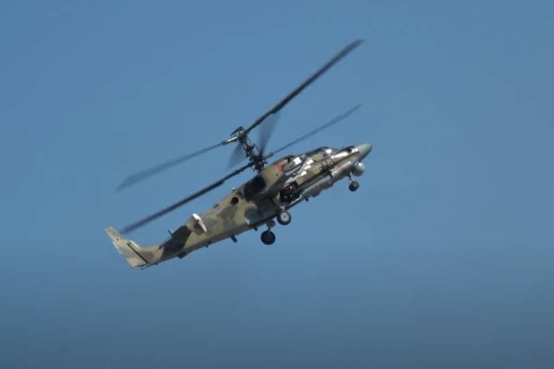 Новый «Аллигатор»: на МАКС-2021 рассказали об испытаниях модернизированного вертолёта Ка-52М с применением ракет «изделие 305»