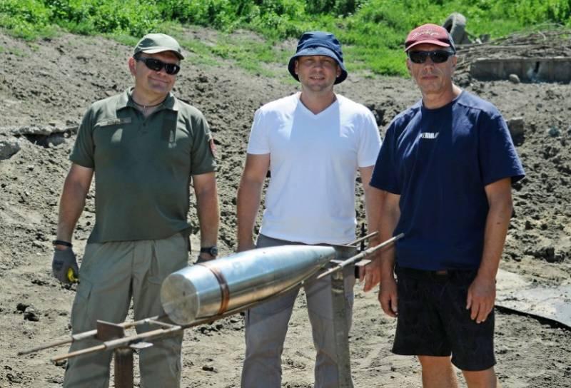 На Украине испытывают отечественный снаряд калибра 155 мм для САУ «Богдана»