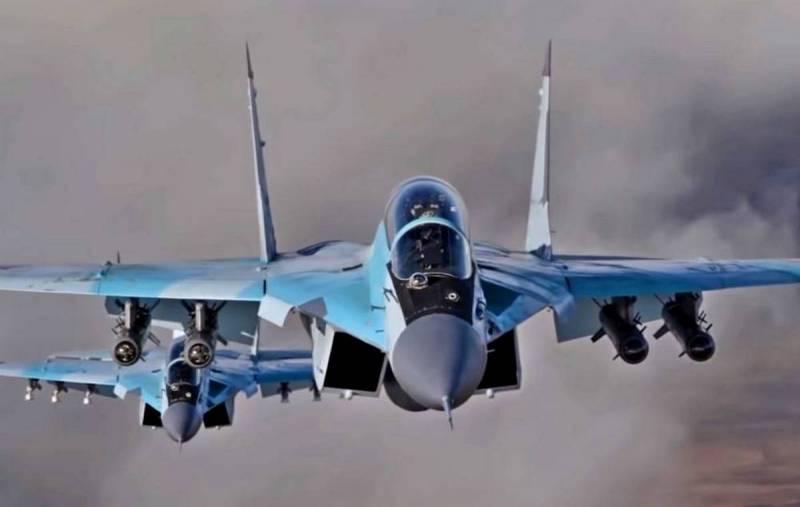 Российская пилотажная группа «Стрижи» переходит с истребителей МиГ-29 на Миг-35