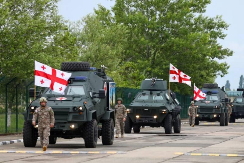 В учениях Agile Spirit войска Грузии задействуют бронемашины «Дидгори»