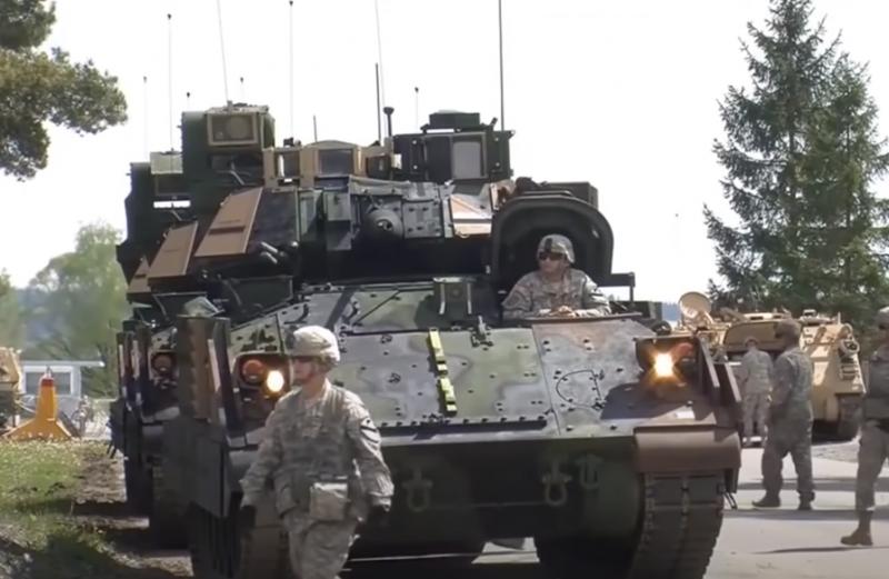 Армия США отобрала пять кандидатов на замену БМП М2 Bradley