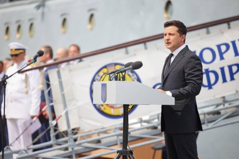 Корветы ещё даже не заложены: на Украине Зеленского уличили во лжи о строительстве кораблей для ВМС ВСУ в Турции