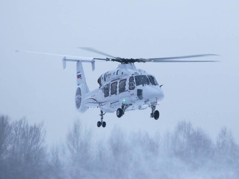 Вертолёт Ка-62 и его особенности