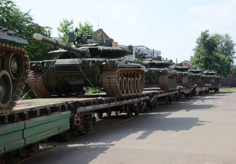 Вооружённые силы РФ получат первую в этом году партию танков Т-80БВМ