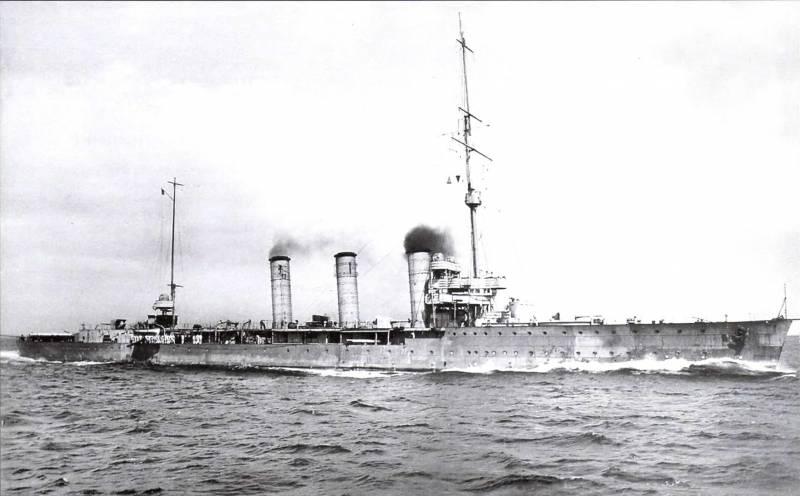 Неповторимые чудовища Кайзерлихмарине. Крейсера-заградители типа «Бруммер» (Brummer)