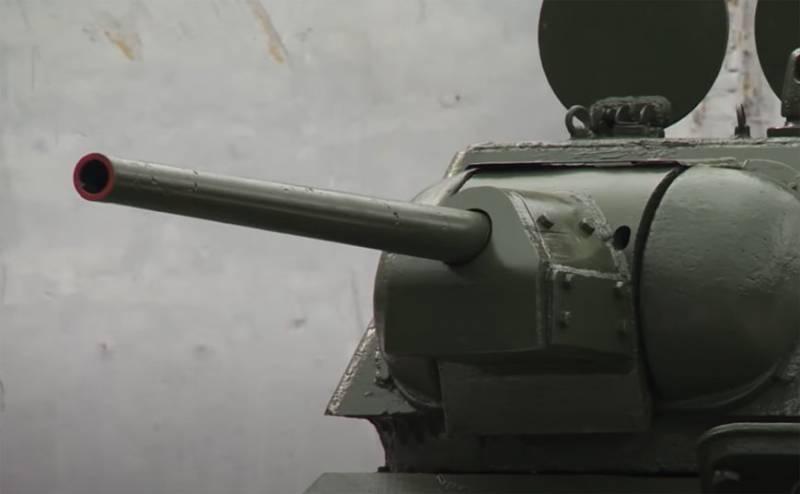 Об испытаниях советского танка Т-34 в 1942 году в США