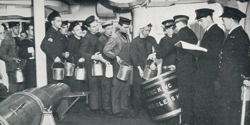 Ron y poder marítimo británico