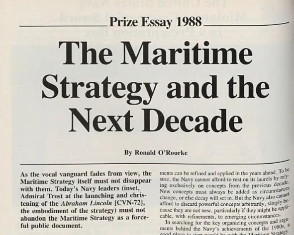 Морская стратегия. Мэхан XXI века
