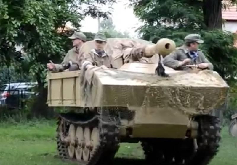 Был учтён опыт применения советского тягача «Сталинец-2»: о немецкой САУ калибра 7,5 см