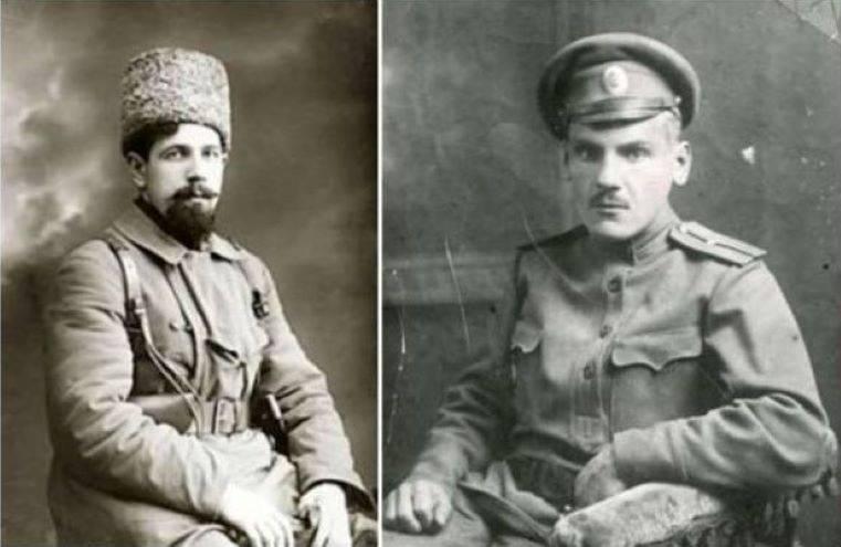 Дыбенко и Крыленко – двое из триумвирата. Во главе военного ведомства