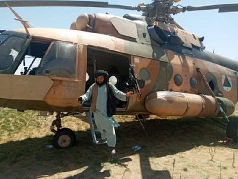 Пресса: Талибы завладели авиацией российского происхождения