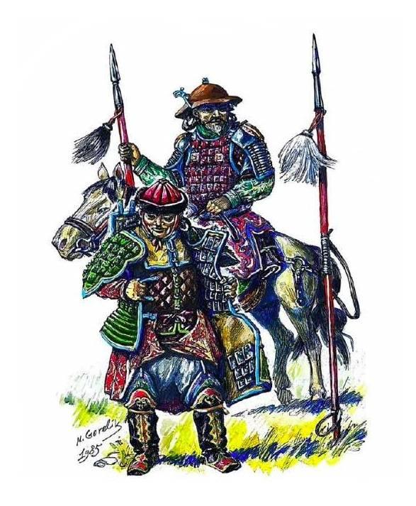 Золотая империя под ударами монголов