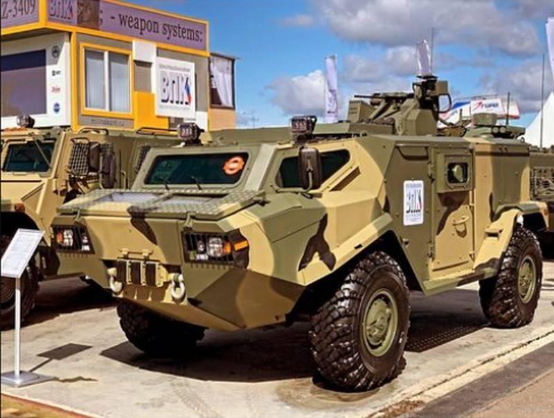 «Армия-2021»: Новый «Тайфун-ВДВ» для спецназа и машина разведки