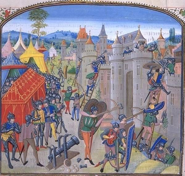 Рыцари Столетней войны: в боях и походах