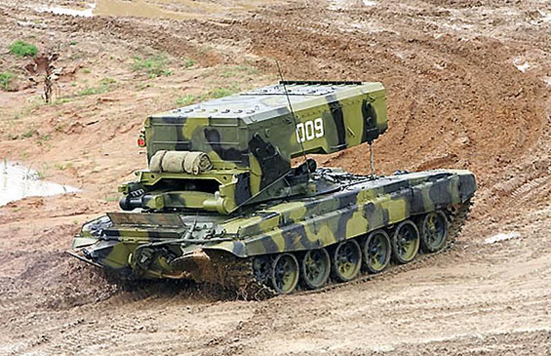 «Омсктрансмаш» завершает работы по созданию модернизированной версии ТОС-1А «Солнцепёк»