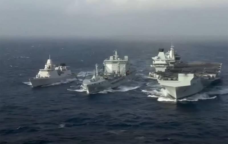 В прессе КНР призвали британскую авианосную группу «держаться подальше» от китайских морских границ