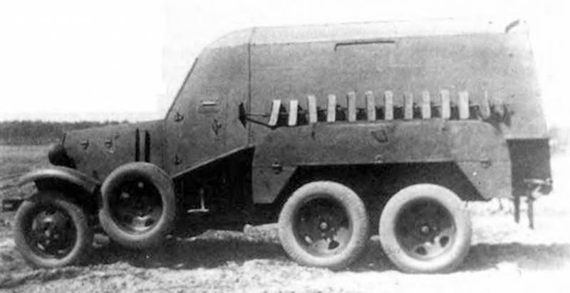 Санитарно-транспортный бронеавтомобиль БА-22