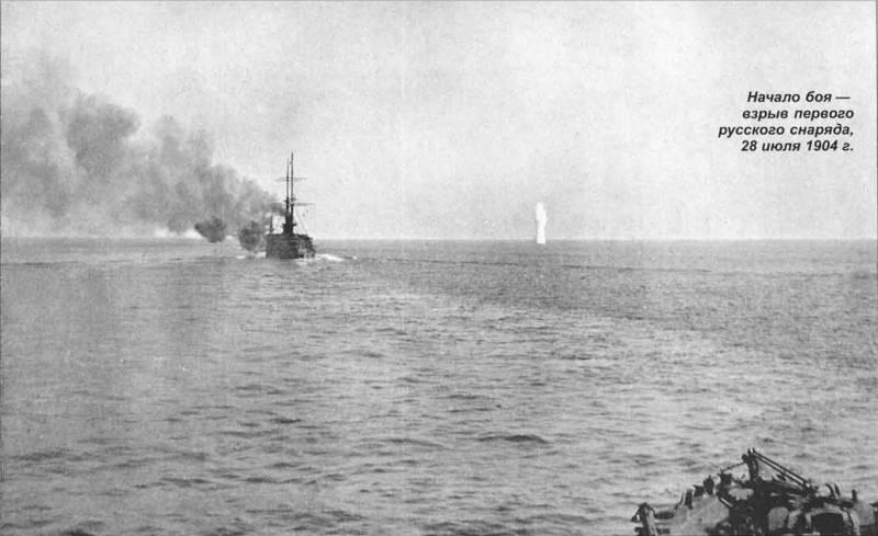 Стрельба залпами – «ноу-хау» японского флота в Цусиме