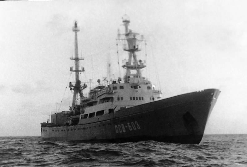 Морская радиоэлектронная разведка