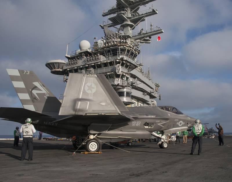 F-35C: ожидаемый успех в дебюте
