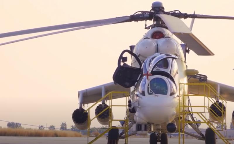 Сербия намерена закупить партию вертолётов Ми-35П российского производства