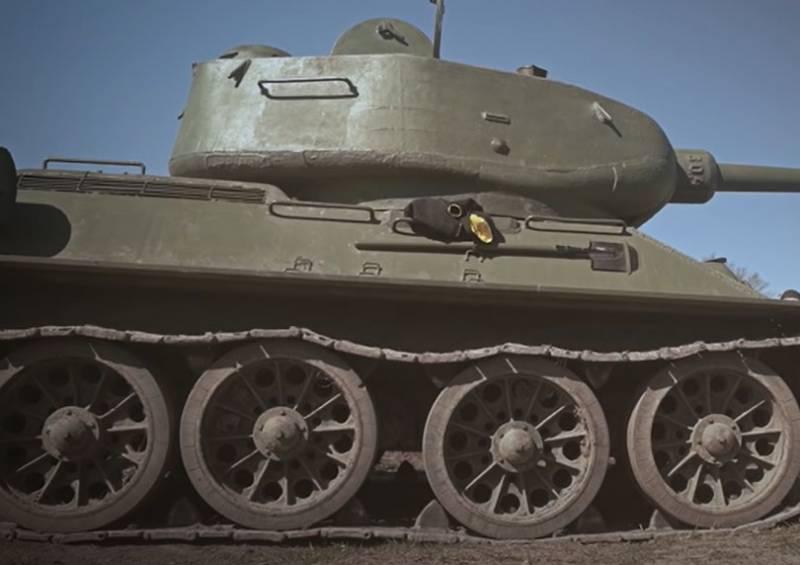 Как немцы застрявший Т-34 захватить пытались - из повествования советского танкиста