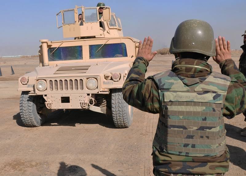 Новая угроза: вооружение и техника афганской армии в руках террористов