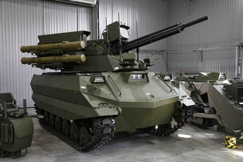 Боевые и инженерные. Робототехнические комплексы для российской армии