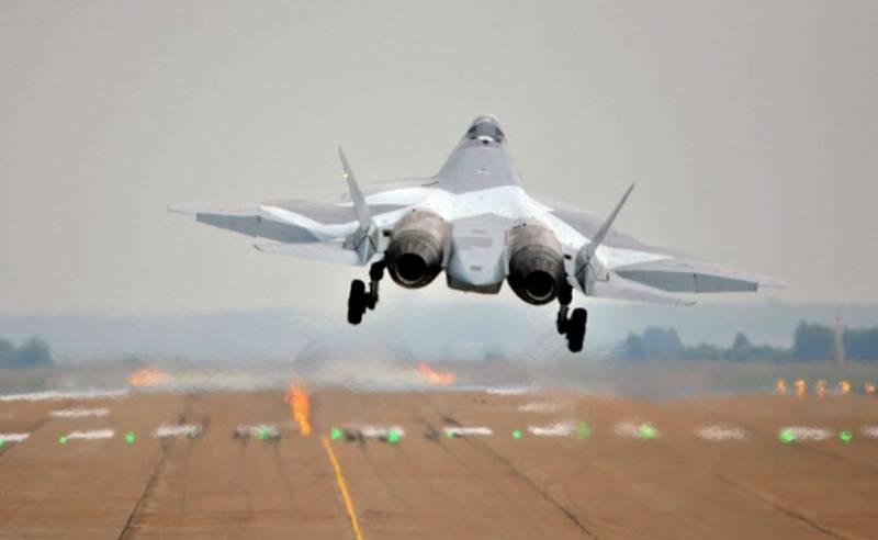 Россия покажет экспортную версию истребителя Су-57Э на форуме «Армия-2021»