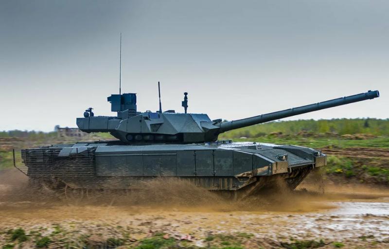 «Ростех» сообщил о передаче военным опытно-промышленной партии новых танков Т-14 «Армата»