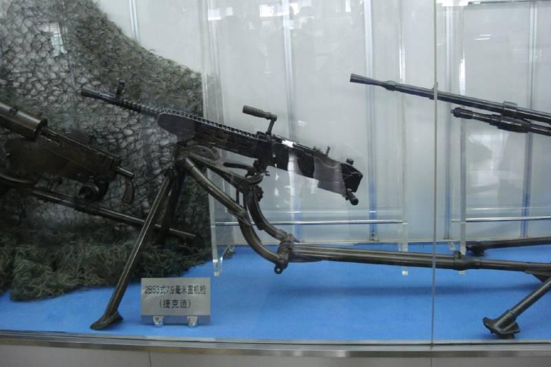 Китайские зенитные пулемёты в Японо-китайской войне