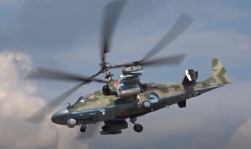 Минобороны заказало поставку модернизированных ударных вертолётов Ка-52М