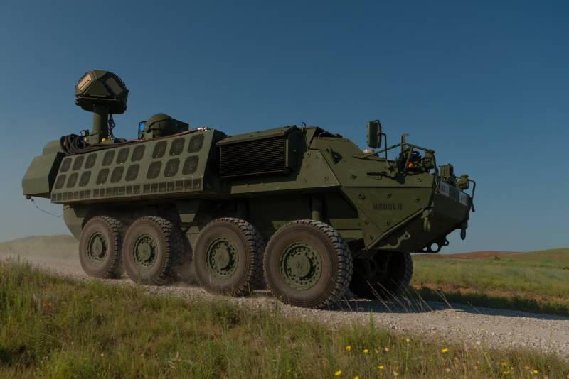 Боевой лазер DE M-SHORAD проходит испытания