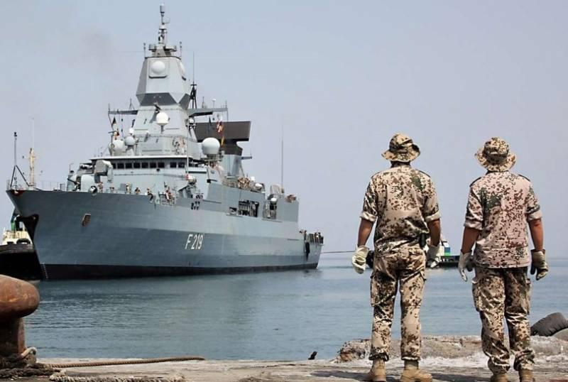 Германия оборудует фрегаты класса Sachsen для противоракетной обороны