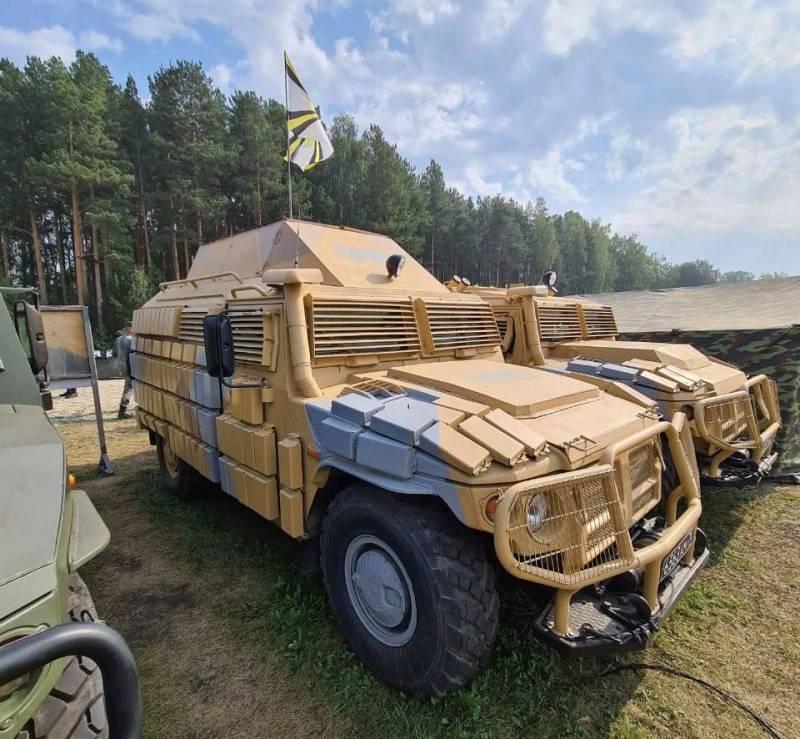 Замечен бронеавтомобиль «Тигр» с «танковой» защитой