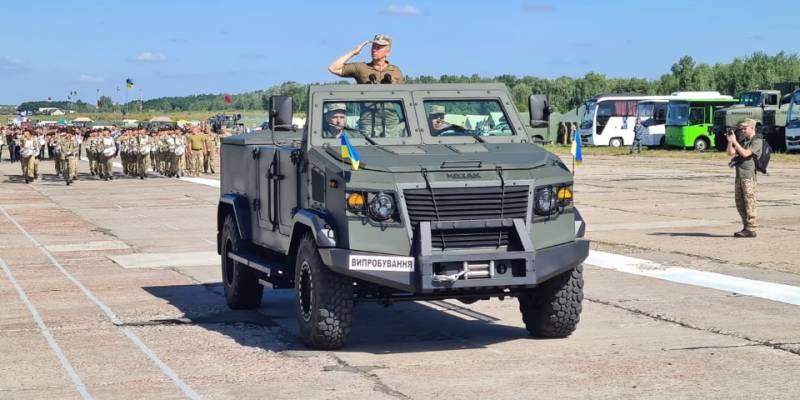Минобороны Украины отказалось от закупки бронированных кабриолетов «Козак-6»