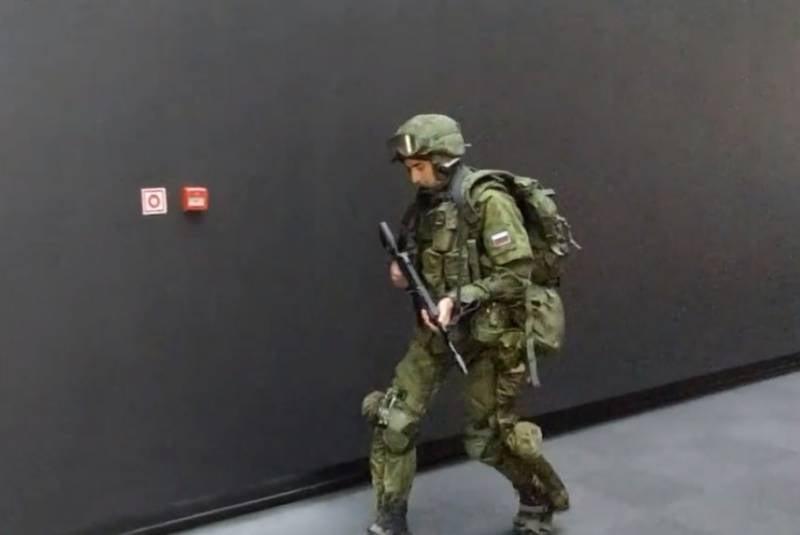 «Ростех»: Российские военные используют в Сирии экзоскелеты